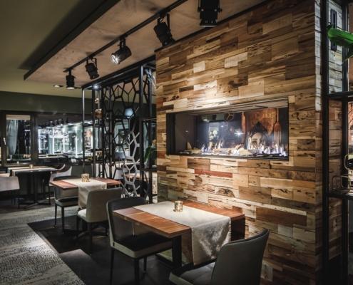 Openhaarden voor restaurants