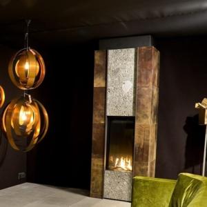 M Design Luxe openhaard steen