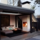 Veranda met terrashaard