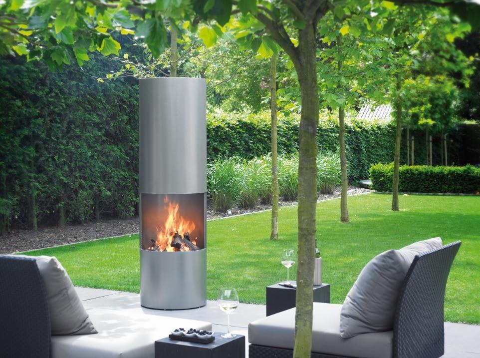 Nieuw Langer buiten genieten met tuin- of terrashaard - Daniëls Openhaarden RL-92