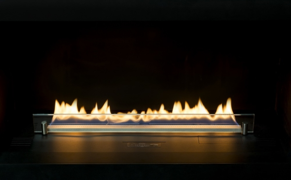 39.Prime Fire with decoretive glass panel 2
