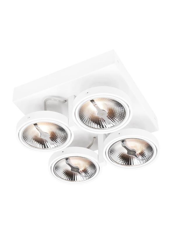 Chique 4-Lights AR111 LED Wit