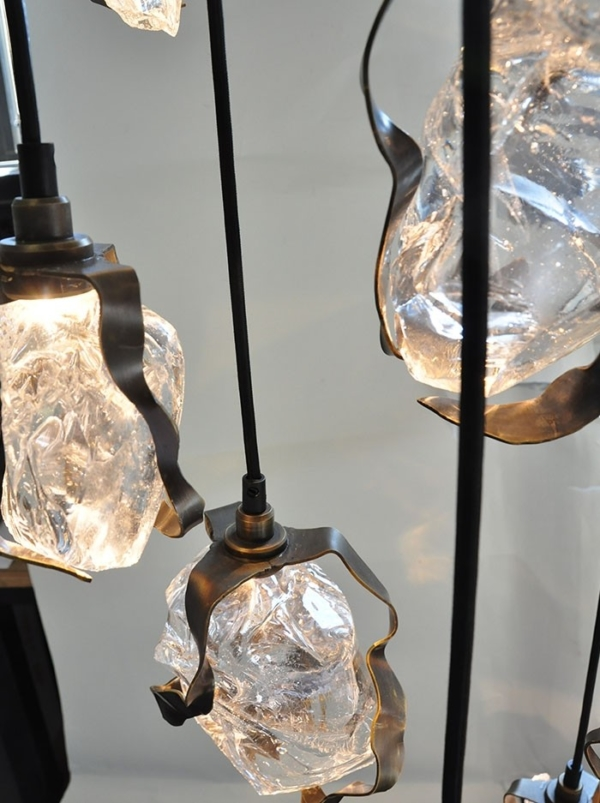 Glass Jewel Pendant sfeer1