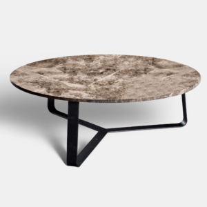 Rapture-Bloom-sidetable-Emperador-Dark-Marble-ø100