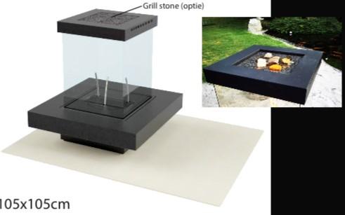 Cube 500 True Vision tafel 105x105